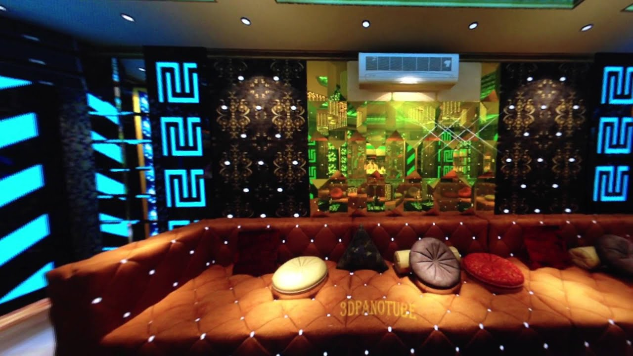 Karaoke room 04 karaoke panorama render 3dsmax youtube for Design room karaoke