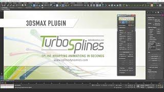 Introducing TurboSplines 3dsMax script