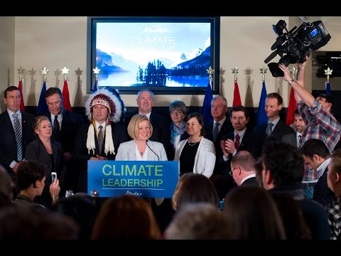 Alberta's Climate Leadership Plan - Nov 22, 2015