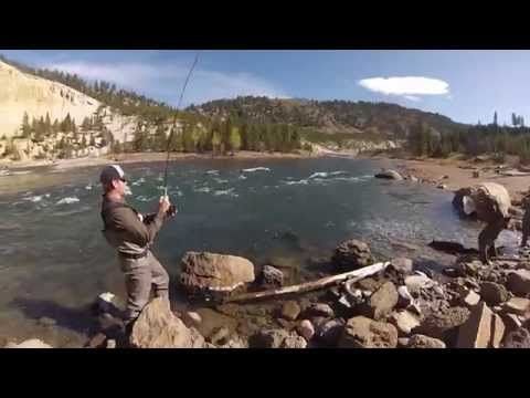 Yellowstone Fly Fishing October 2014 - GoPro