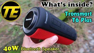 What's inside Tronsmart T6 Plus 40W bluetooth speaker