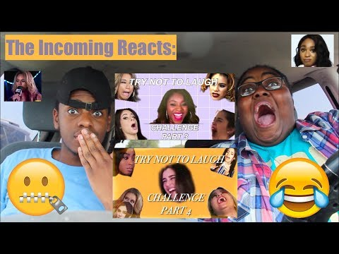 FIFTH HARMONY TRY NOT TO LAUGH CHALLENGE (PART 3 & 4)!