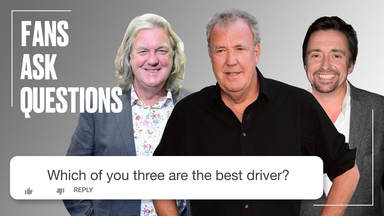 Clarkson & @The Grand Tour Cast Answer Your Questions | FAQ | @LADbible TV