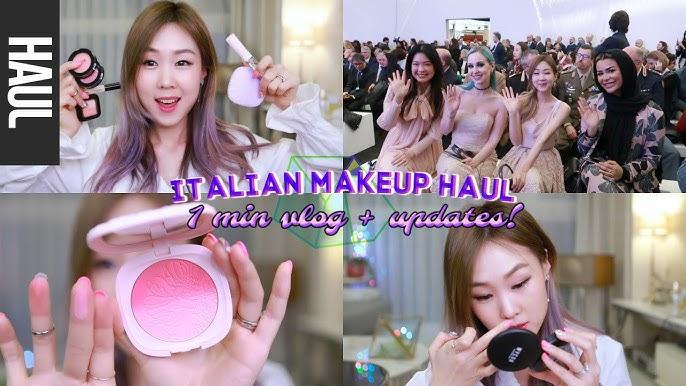 (MY FIRST EVER) ITALIAN MAKEUP HAUL! ???? Updates + Cosmoprof 2019! 이탈리안 화장품 하울+브이로그 | meejmuse