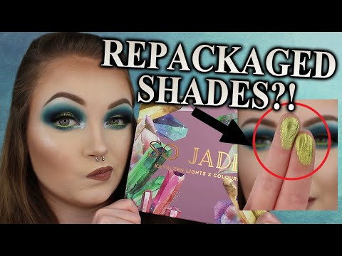 Uh... COLOURPOP SO JADED PALETTE REVIEW AND TUTORIAL thumbnail