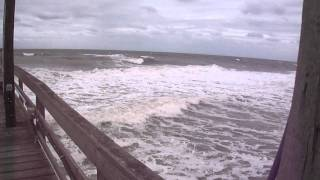 Nags Head Fishing Pier Storm - Sep 16, 2011 - Outer Banks NC - OBX
