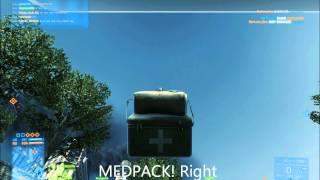 Battlefield 3 | Epic medpack bug [PC GAMEPLAY] (HD 1080p)