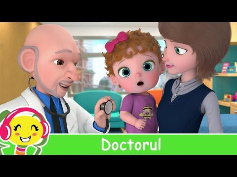 Doctorul  Bebe merge la doctor | Cantece pentru copii – 32 min – Cantece pentru copii in limba romana