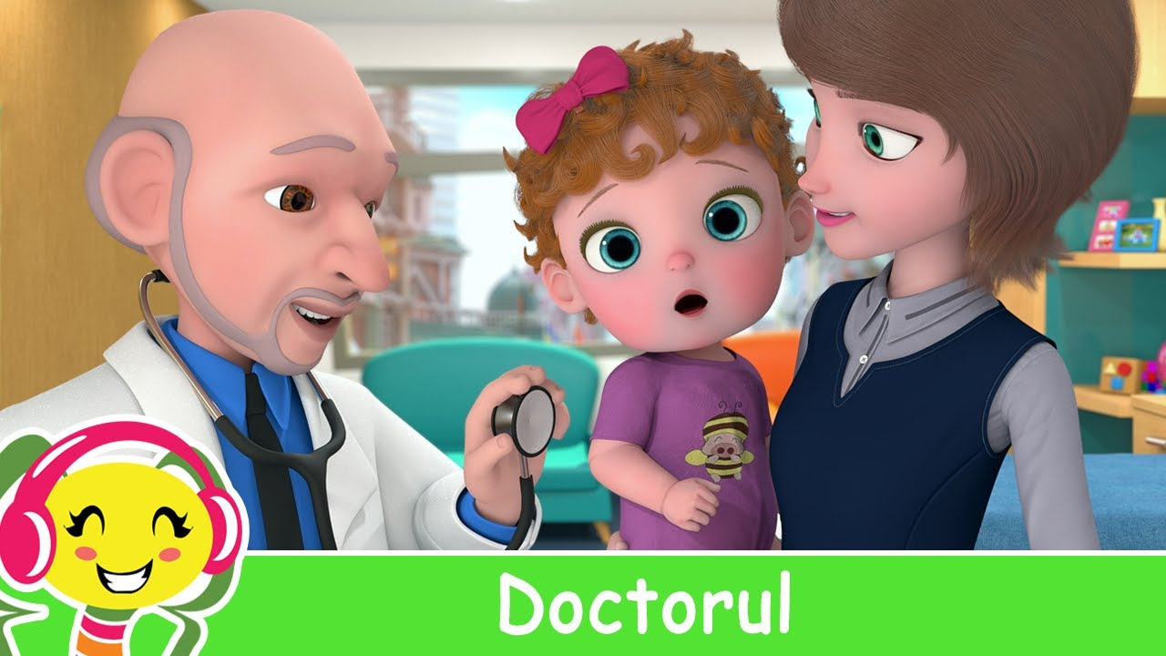 Doctorul ?⚕️ Bebe merge la doctor | Cantece pentru copii - 32 min