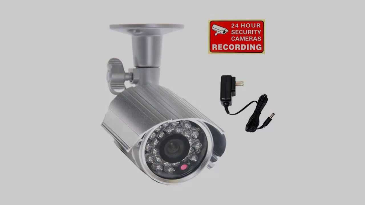 VideoSecu Day Night Vision IR Bullet Security Camera CCD ...