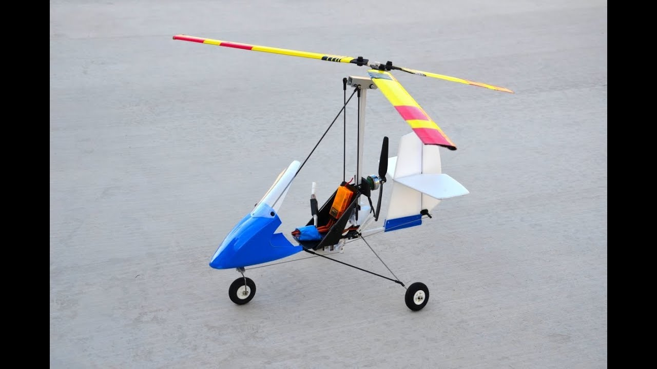***** Rock Solid Stability! ***** MIA EZ 1 0 Gyro Unmatched Performance! RC  Autogyro