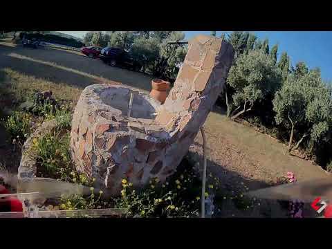 Фото FPV drone racer crash