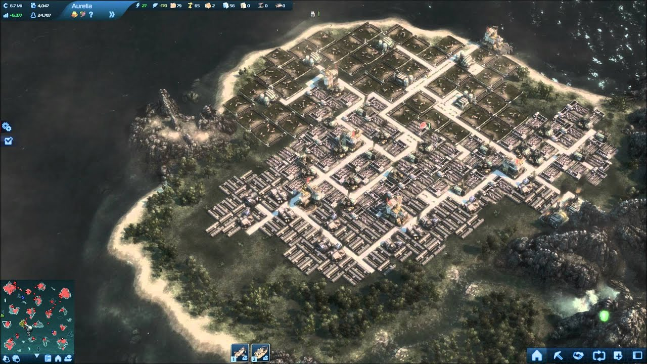 Anno 2070 power games the end youtube for Anno 2070 find architect