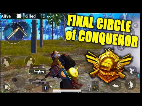 How much Difficult is Conqueror League Final Circle?? | Pubg Mobile Conqueror Asia