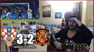 MAL FINAL... CROACIA VS ESPAÑA 3-2 REACCION | UEFA NATIONS LEAGUE 2018