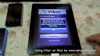 How to using Viber on iPad 1 or iPad 2 | iPhonemod