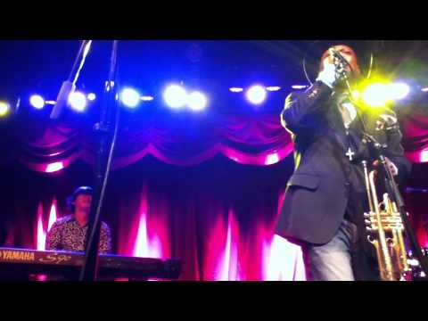 Skokiaan Kermit Ruffins & The BBQ Swingers @ The Brooklyn Bowl,NYC 10132012