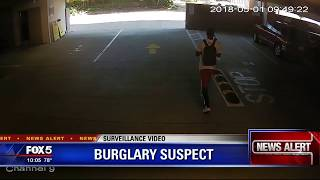 Atlanta serial burglary suspect
