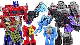 Transformers War for Cybertron: Siege! Optimus Prime Micromaster VS Battle Master! #DuDuPopTOY