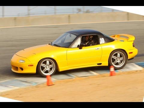 1993 Mazda Miata Yellow Racecar Build (Long Version w/ Comtary ...