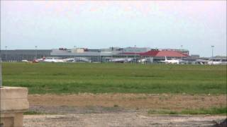 A320 AF taxiing & take-off  Toulouse Blagnac