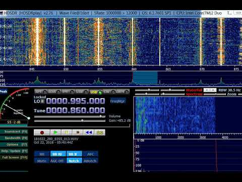 AM DX 860 PJZ86 Radio Curom, Curacao. Heard in Finland