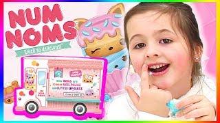 Selber Lipgloss machen! Mit dem NUM NOMS Lipgloss Truck 💄 Geschichten und Spielzeug