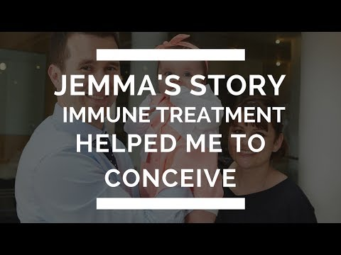Immune treatment helped me to conceive | Jemma's Story