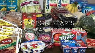 FREE & CHEAP GROCERY HAUL- January 20th 2017 - COUPONING IN CANADA!(WELCOME BACK TO MY CHANNEL FOR ANOTHER WEEK OF FREE & CHEAPS GROCERIES!! DON'T FORGET TO SUBSCRIBE! Follow me on Instagram ..., 2017-01-21T14:59:00.000Z)