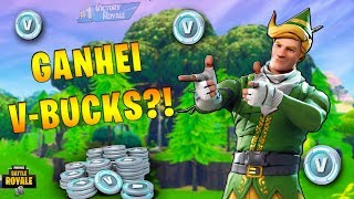 I PLAYED A GAME VALENDO V-BUCKS!! -Fortnite Battle Royale-