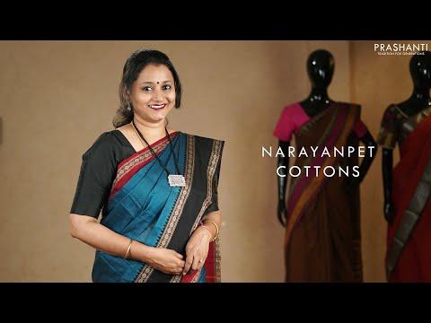Narayanpet Cotton Sarees