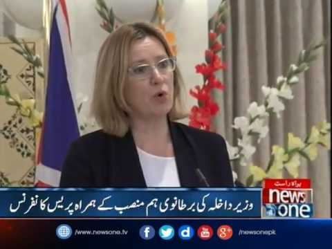 Interior Minister Chaudhry Nisar ,UK Home Secretary Joint Press Conference