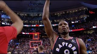 Serge Ibaka Hits Game-Winner Against Pacers