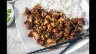 THE BEST BOURBON CHICKEN RECIPE FOOD COURT (AT THE MALL) STYLE