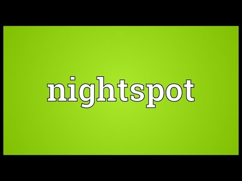 Header of nightspot