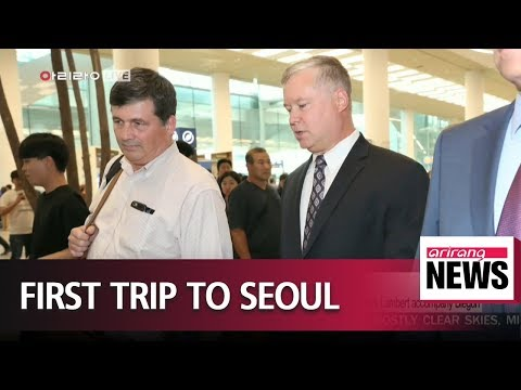 U.S. special envoy for North Korea in South Korea for first diplomatic trip
