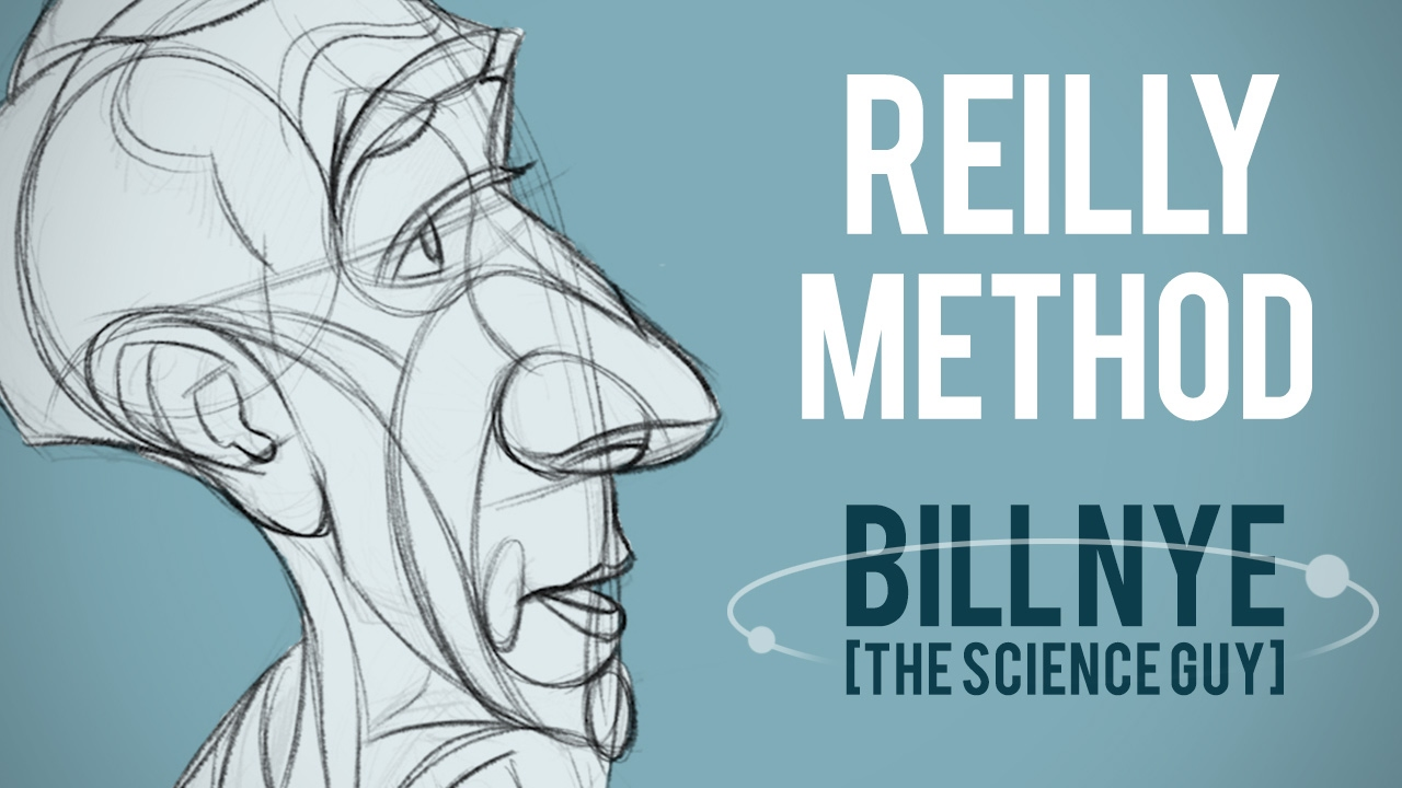 Using the Reilly Method for Bill Nye Caricature