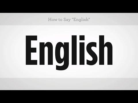 "How to Say ""English"" | Mandarin Chinese"