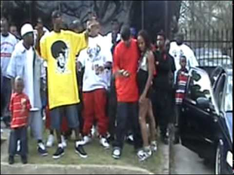 """EAST DALLAS TX """"GRINDAGANG""""FOURTHQUARTER REC.G-RELATED MAFIA behind the scenes video shoot pt. 2"""