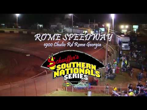 Southern National Series Qualifying @ Rome Speedway 7 22 18