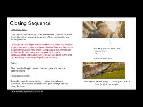 Film Studies - Section B: Living With Crime