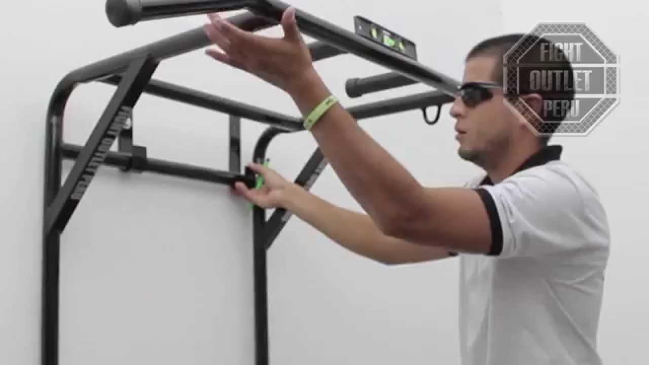 Como instalar el soporte 2 en 1 original de fight outlet peru youtube - Barras de ejercicio para casa ...
