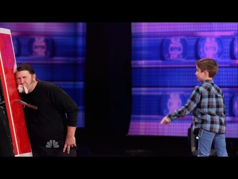 America's Got Talent S09E05 Grennan the Green Monster & More Kids Acts