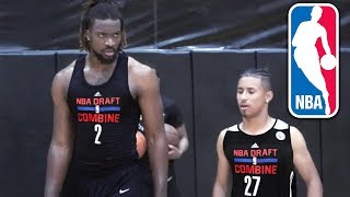 Julian Newman CRAZY NBA PRE DRAFT Workout W/2019 DRAFT PROSPECTS!
