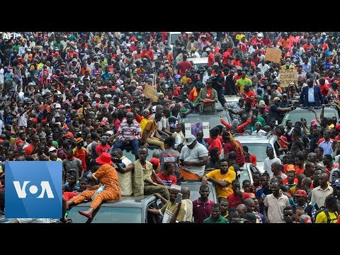 Mass Protest Held In Guinea Against President Alpha Conde