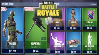 FORTNITE ITEM SHOP TODAY 25 JANUARY | NEW SKIN TECH OPS | FORTNITE DAILY SHOP