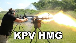 KPV Heavy Machinegun 14.5x114mm