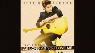 Justin Bieber feat. Big Sean - Long As You Love Me (Original Instrumental) [HQ]