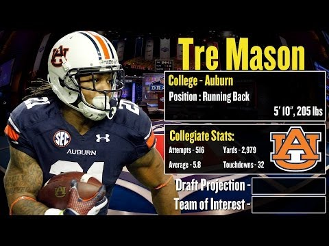 2014 NFL Draft Profile: Tre Mason - Strengths and Weaknesses + Projection!