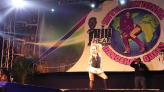 International Dancehall Queen 2014 | ALEVANILLE 3rd place - all rounds | Montego Bay, Jamaica